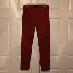 Celebrity Pink Jeans - Celebrity Pink Burnt Orange Jayden Skinny Jeans